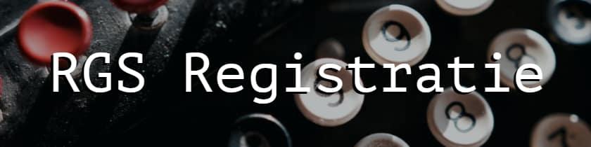 RGS Registratie huisarts